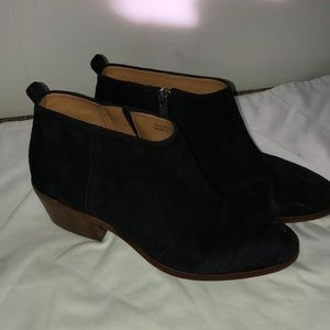 Black JCrew booties